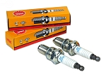 2 PACK OF NGK SPARK PLUG FITS WALKER MODELS MT23 & MTEFI BCPR6ES
