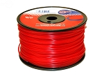 TRIMMER LINE .095 1LB SPOOL RED COMMERCIAL GRADE