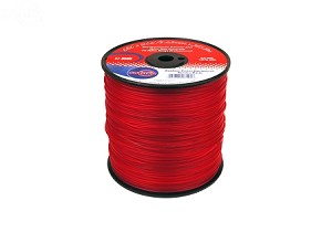 TRIMMER LINE .105 3 LB SPOOL RED COMMERCIAL GRADE
